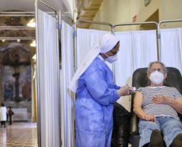 Италия, вакцинация,