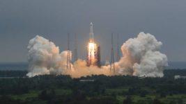 Китай, модуль, космическая станция,