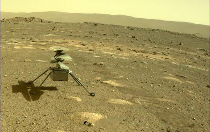 Марсоход, НАСА, мини-вертолет,