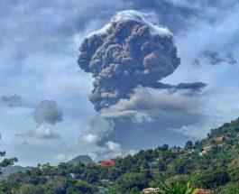 Остров Сент-Винсент, Вулкан, извержение,
