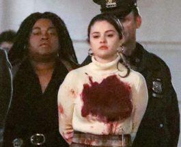 Селена Гомес, сериал, наручники, Только убийства в доме,