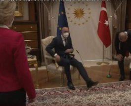 Эрдоган, Турция, встреча, Урсула фон дер Ляйен,