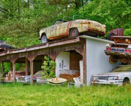 автомобили, Атланта, кладбище автомобилей, old car city,