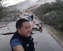 оползень, Перу, дорога,