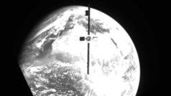 Новаторский спутник использовали для спасения другого