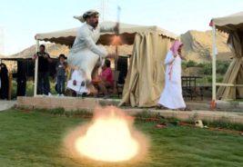 таашир, традиционный танец, Саудовская Аравия,