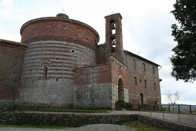 Часовня Монтесиепи в Тоскане