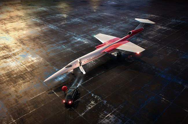 Aerion, AS2, сверхзвуковой бизнес-самолет,