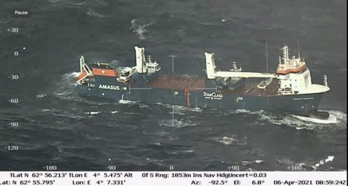 Eemslift Hendrika, Норвегия, судно,