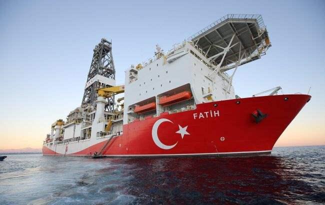 Fatih, судно, Черное море, бурение,