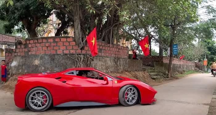 Ferrari 488 GTB, Вьетнам, арбузы,