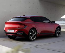 Kia EV6, электромобиль,