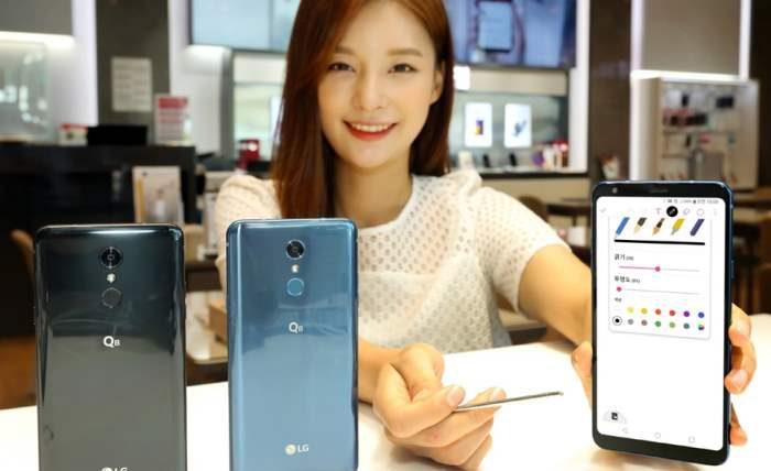 LG, смартфоны,