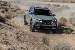 Hyundai представила полную спецификацию пикапа Santa Cruz