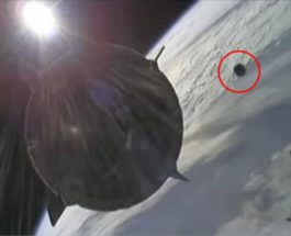 SpaceX Crew Dragon, космический мусор,