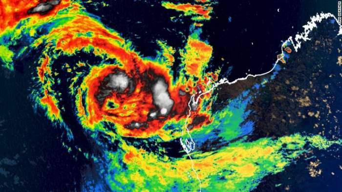 Тропический циклон, Сероя, Западная Австралия,
