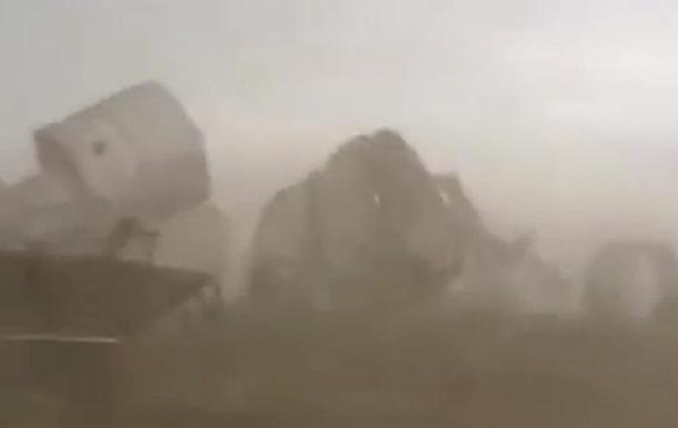 Алтайский край, зернохранилище, ураган,