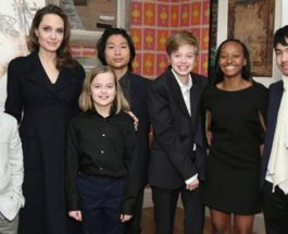 Анджелина Джоли, дети,