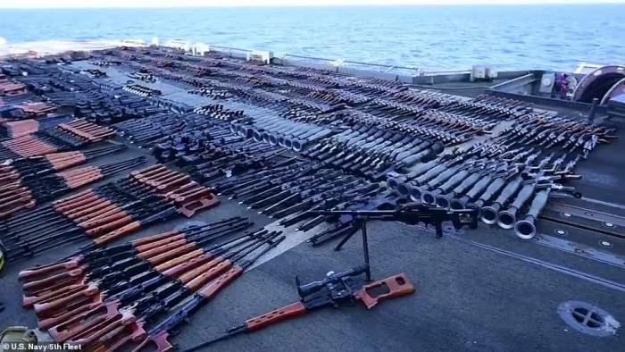 Аравийское море, Иран, оружие, хуситы, США,