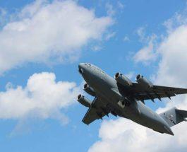 ВВС США, C-17 , транспортный самолет, бомбардировщик,