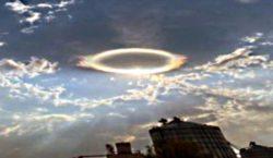В небе Вермонта засняли необычное кольцо