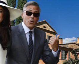 Джордж Клуни, Франция, особняк,