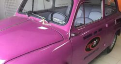 Розовый «Запорожец» ЗАЗ 965 продают за 5 000$