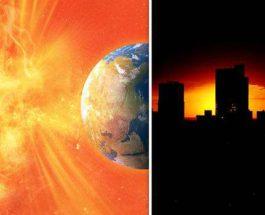 Земля, магнитная буря, солнце,