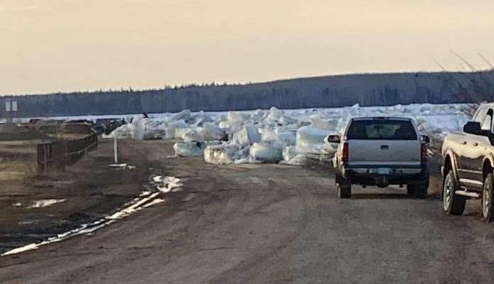Канада, лед,