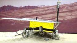 Китайский космический корабль успешно приземлился на поверхности Марса
