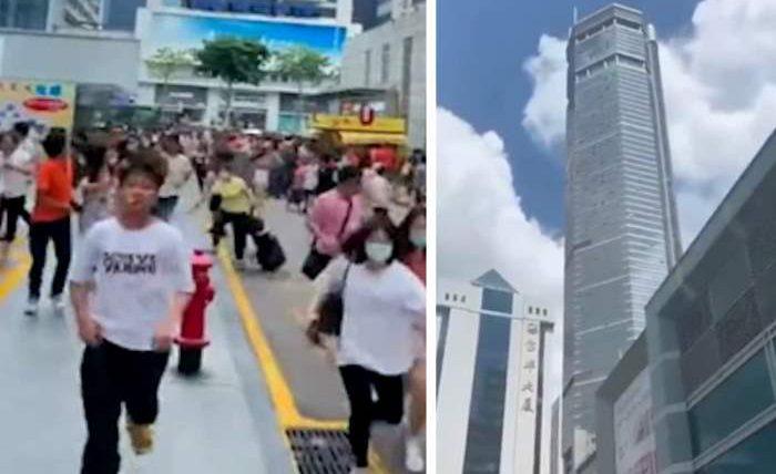 Китай, небоскреб,