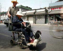 Китай, пенсии,
