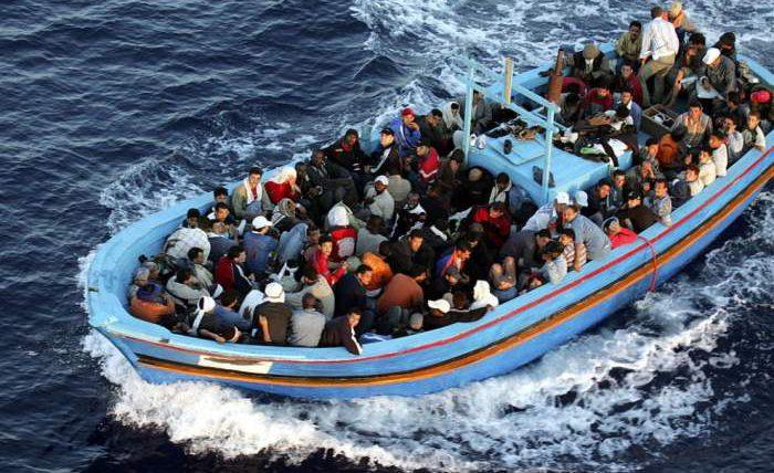 Лампедуза, Италия, мигранты,