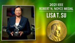 Босс AMD доктор Лиза Су получила награду от Intel