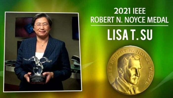 Лиза Су, AMD, Intel, награда, IEEE,