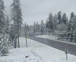 Монтана, снег,