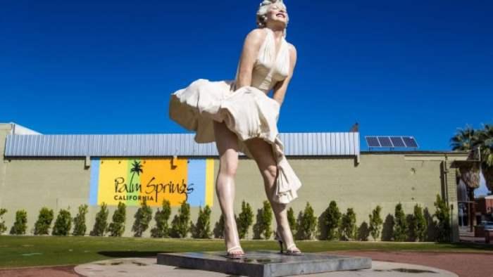 Мэрилин Монро, Калифорния, памятник,