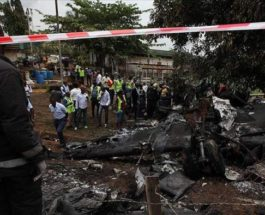 Нигерия, авиакатастрофа,