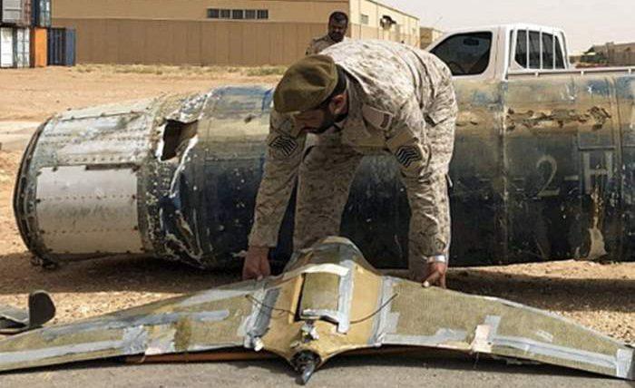 ПВО, дрон, Саудовская Аравия, взрывчатка,