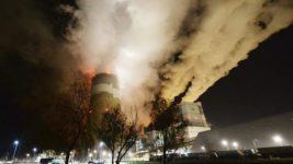 Польша, угольная шахта, пожар,
