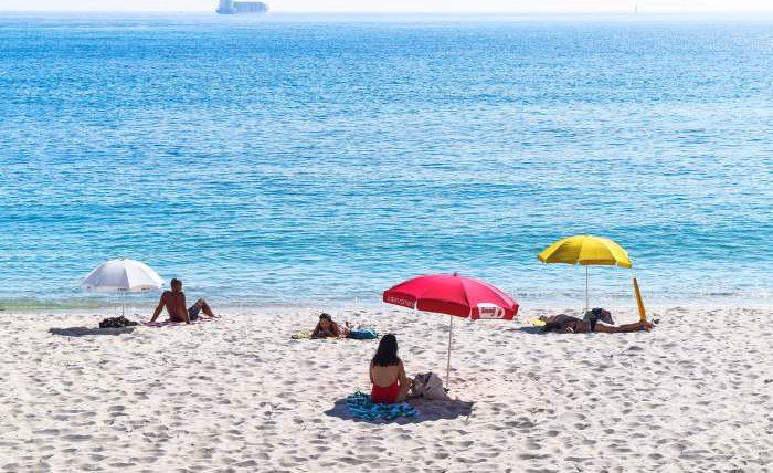 Португалия, пляж, маски, штрафы,