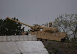 Новый танк США замечен на заводе BAE в Мичигане