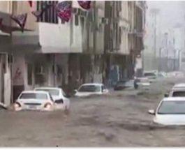 Саудовская Аравия, наводнение,