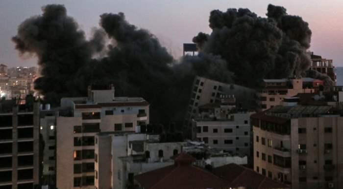 Сектор Газа, Израиль, бомбежка, авиаудар,