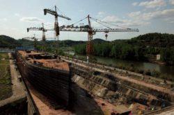 Китай строит точную копию Титаника в полный размер