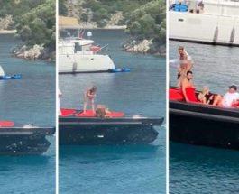 Турция, украинки, девушки, яхта,