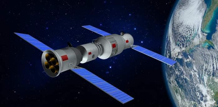 Тяньгун, Китай, станция, космос,