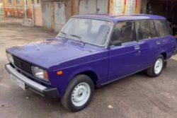Капсула времени: ВАЗ-2104 прятали 20 лет в гараже