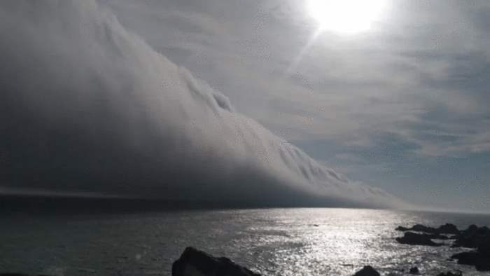 Чили, облака,