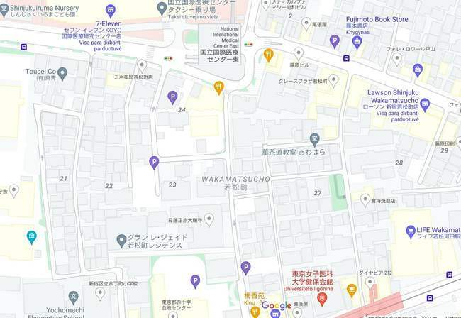 Япония, адреса, навигация,